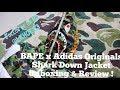 BAPE x Adidas Originals Shark Down Jacket Hoodie ABC Camo Review! Supreme hypebeast Tokyo haul!