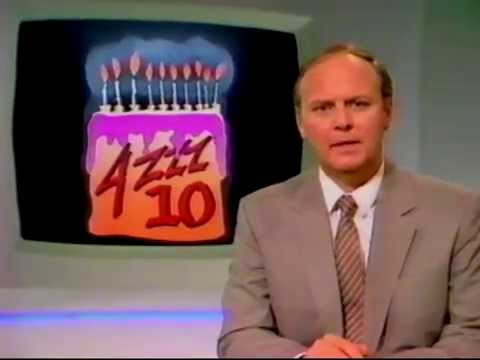 4ZZZ FM Radio 10 year anniversary Dec 1985 news report