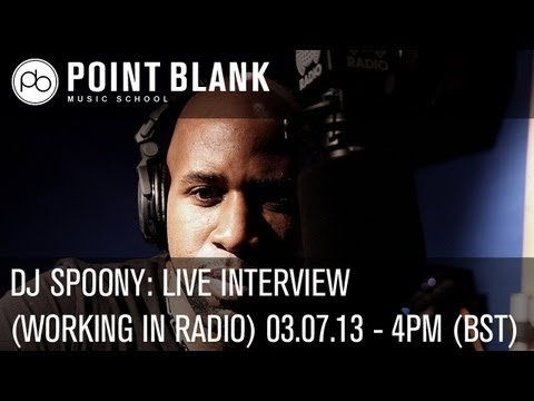 DJ Spoony: Live Interview (Working in Radio) - 03.07.13