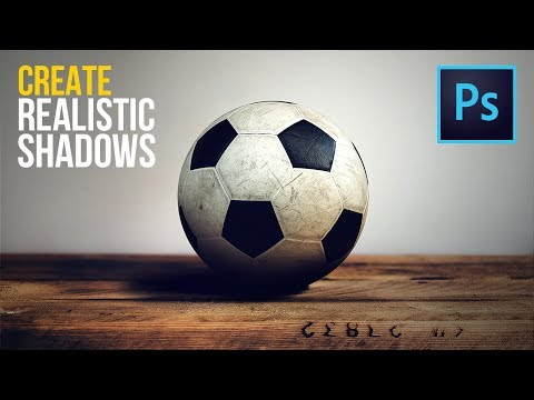 Create Highly Realistic Shadows By Detaching Drop Shadow In Photoshop