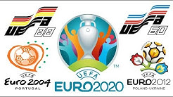 All The Logos of UEFA EURO cups from 1960 To 2020