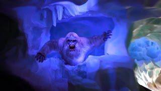 Matterhorn Bobsleds New Abominable Snowman | Disneyland | POV