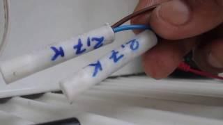 Troca do Sensor  fusível Térmico e Resistência no Dreno - Geladeira Brastemp