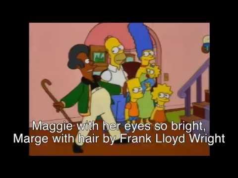 The Simpsons Karaoke - Who Needs the Kwik-E-Mart?
