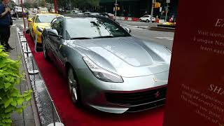 Ferrari Celebrates Its 70th Birthday With Cars On Display At Manhattans Park Ave