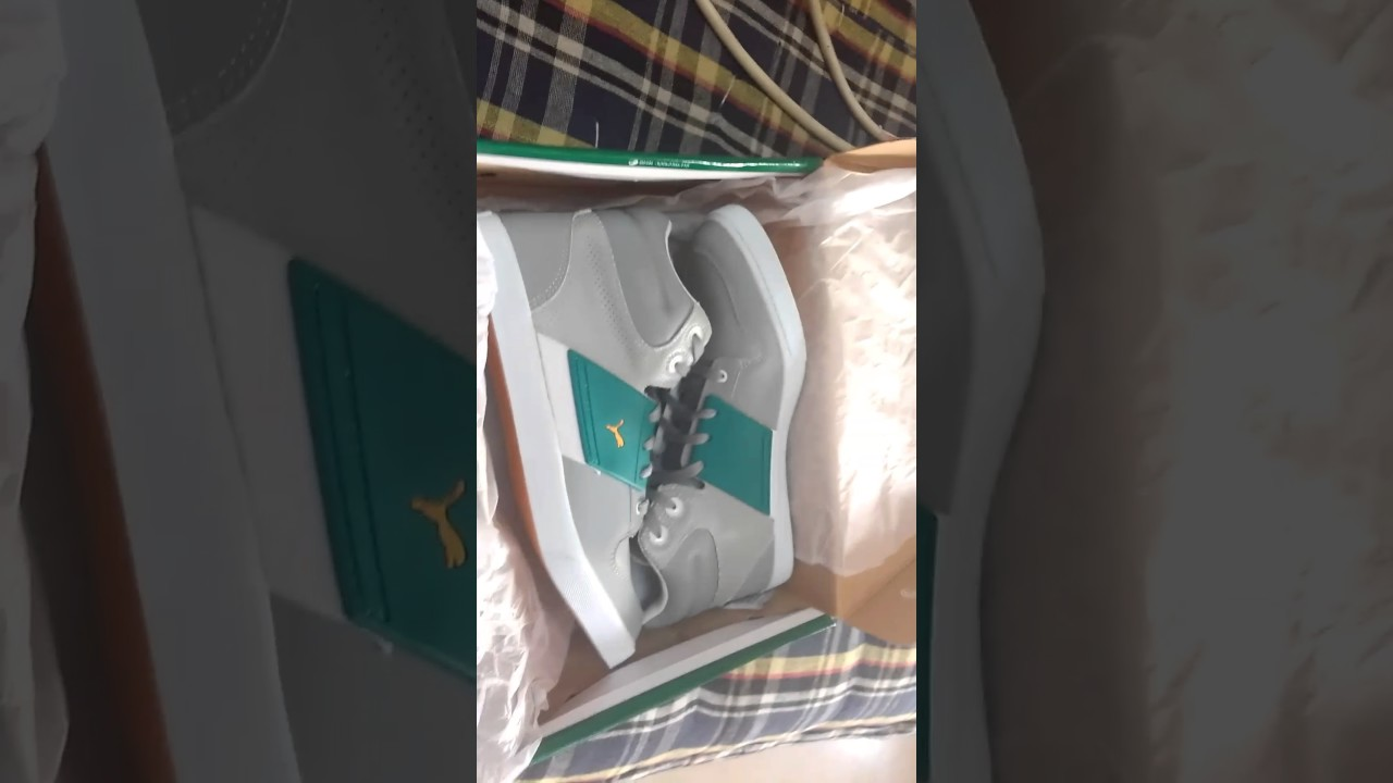 1a410da28e0478 Unboxing of brand new puma el ace 2 mid ankle..!!! - YouTube
