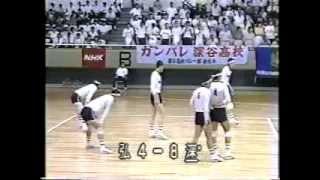 深谷高校バレー部全国初制覇 1983年総体(静岡)4/5