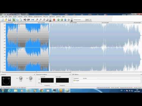 การตัดเพลงด้วยโปรแกรมNero WaveEditor