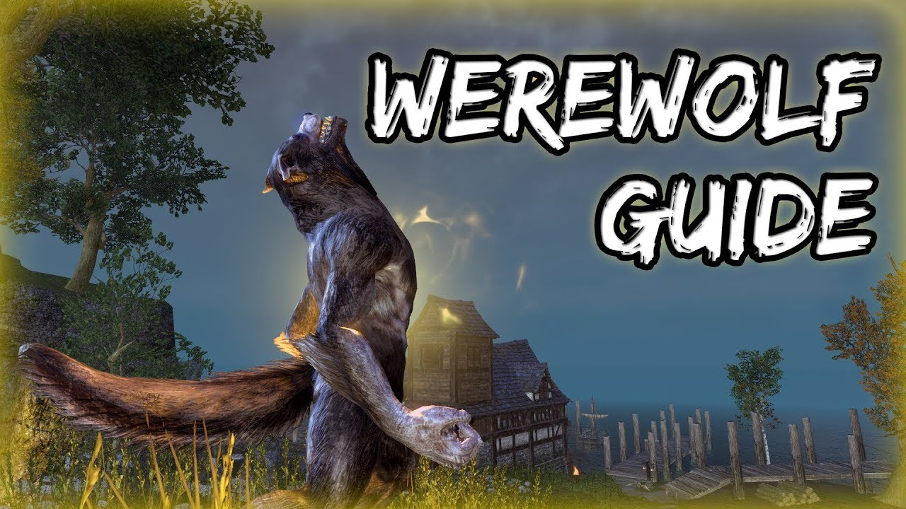 How to Become a WEREWOLF in Elder Scrolls Online (ESO Guide)