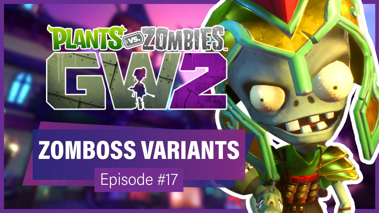 PLAYING AS DR. ZOMBOSS VARIANTS (Custom Characters) - Garden Warfare Wednesday (Episode #17 - GW2)