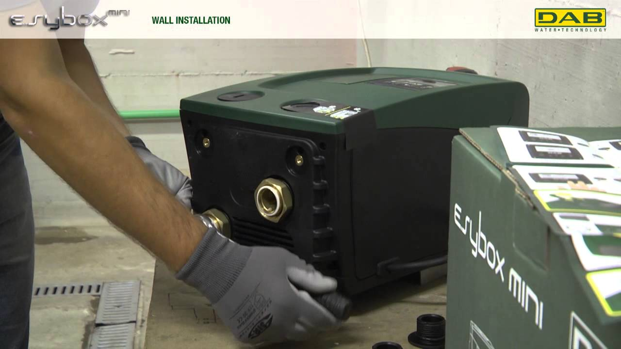 DAB E.sybox video tutorial vertical installation - YouTube