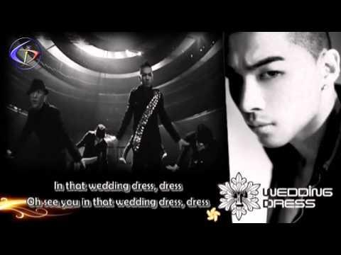 TaeYang   Wedding Dress English Version w Lyrics Tommy C & J Reyez
