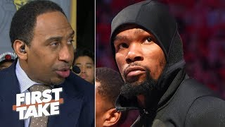 Download KD was 'hell-bent' on proving he has heart, but wasn't ready for Game 5 – Stephen A. | First Take Mp3 and Videos