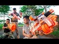 Battle Nerf War: Marksman Forces Nerf Guns Enemy Group Blaster Combos Nerf