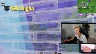 Bugha finally killed tfue (fortnite funny and wtf moments)