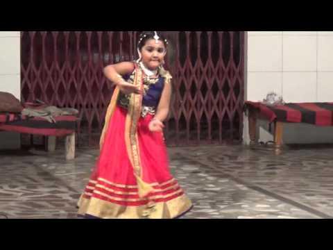 Kannare..Kannare..  kingini dancing in Brij vihar Ayyappa Temple
