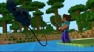 maincraft клёвая рыбалка! # 8 ловим рыбу жарим и едим