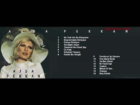 AJDA PEKKAN - BOŞ SOKAK (1968) FULL ALBÜM