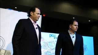 Michael Dell and Marc Benioff  Unscripted