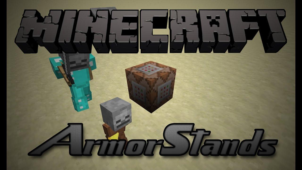 Minecraft Armor Stand DeutschHD YouTube - Minecraft spielerkopfe 1 8