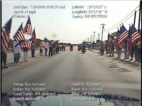 Welcoming Home a Hero - Fallen Marine LCpl Brandon Lara