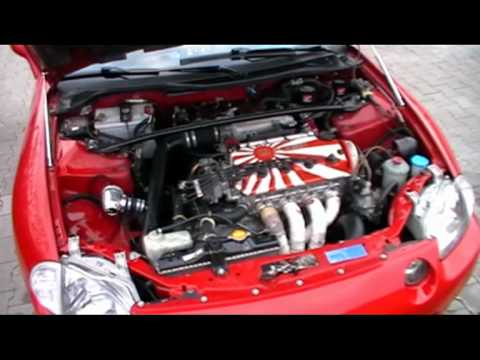 Honda CRX del Sol ESI SUPERCHARGED - YouTube
