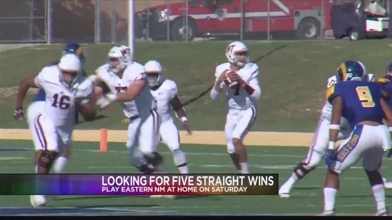 Wt Football Looking For Fifth Straight Win Against Eastern New