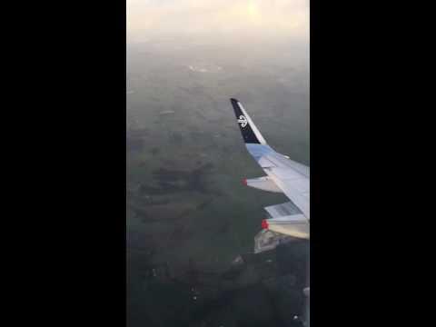 Auckland landing