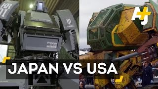 USA Vs. Japan In A Giant Robot Duel