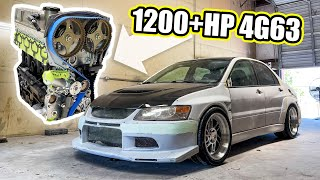 homepage tile video photo for TAKING DELIVERY OF MY 1200+ HORSEPOWER EVO VIII ENGINE!