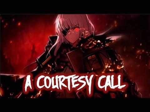 【Nightcore】→ Courtesy Call ( Female Cover )    Lyrics