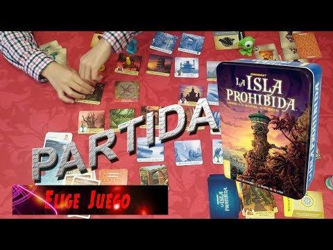 La Isla Prohibida(Juego de mesa): Partida
