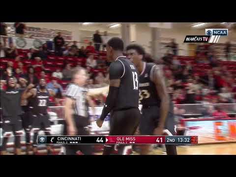 Men's Basketball Highlights: Cincinnati 71, Ole Miss 57 (Courtesy CBS Sports)