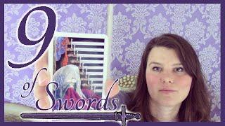 9 Nine of Swords Tarot Card Meaning Upright & Reversed