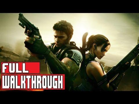 Resident Evil 5 Remastered (PS4) Full Gameplay Walkthrough (1080p)