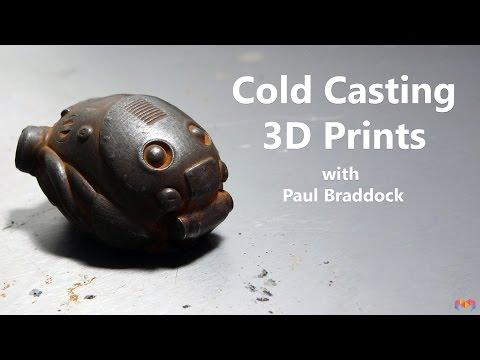 Cold Casting your 3D Prints
