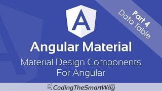 Angular Material - Part 4: Data Table