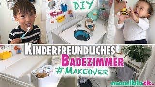 DIY Familien Badezimmer 💕| Perfekte Baby- und Kinderecke | mamiblock