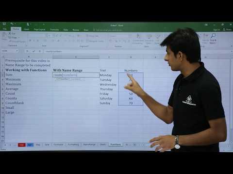 MS Excel - Name Range With Formulas