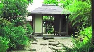 オランダ・ライデン大学植物園の中にあるシーボルトを記念する庭園です...