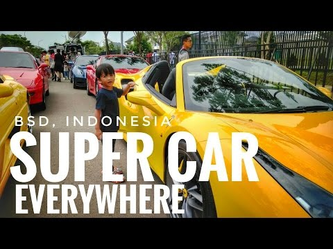 Vlog Ferrari Festival Of Speed Indonesia Supercar