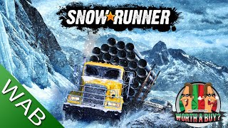 SnowRunner Review - Frustration, P2W, Bugs, it has it all. (Video Game Video Review)