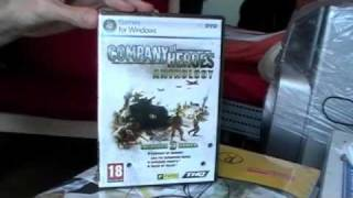 Unboxing Company Of Heroes Anthology (UK-Version - PC) [Deutsch]