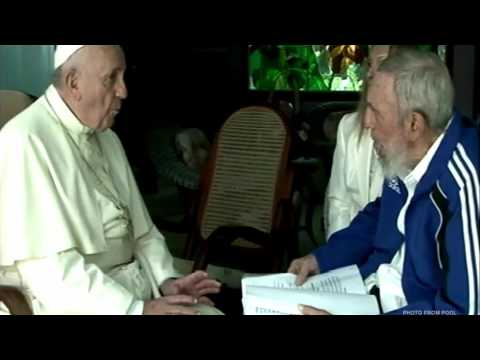 Pope meets with Fidel Castro in Cuba