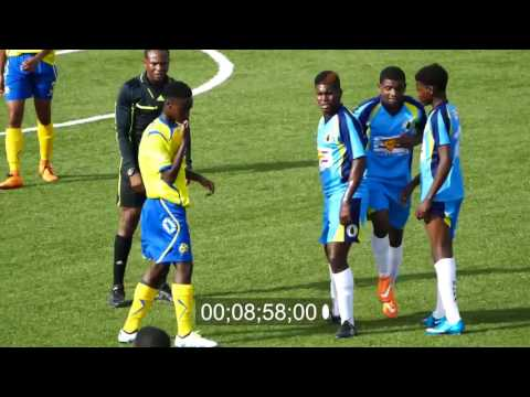 BARBADOS U17 vs ST  LUCIA U17 FRIENDLY MATCH no 2