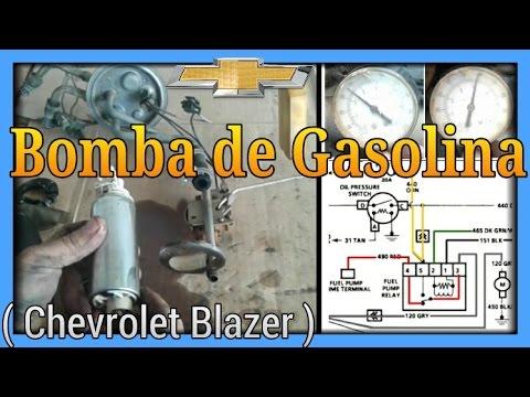 Bomba de Gasolina Blazer - YouTube