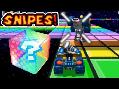 Mario Kart 7 Item Snipe Montage 2