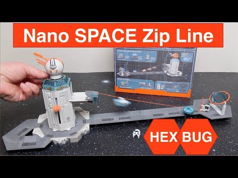 HexBug Nano Space Zip Line Habitat Review - Detailed Play Test & Set-up