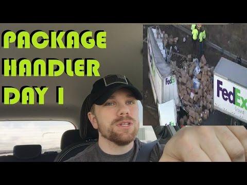 Fedex Package Handler - Day one  Week one