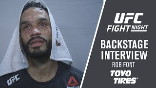Fight Night Milwaukee: Rob Font - 'We Did What We Had To Do To Win